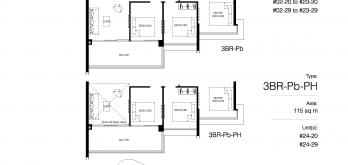 Normanton-Park-floor-plan-3-bedroom-premium-type-3br-pb